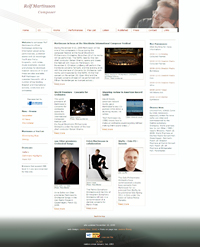 Rolf Martinsson's website 2008